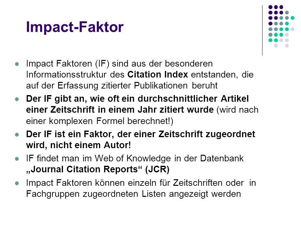 Impact-Faktor