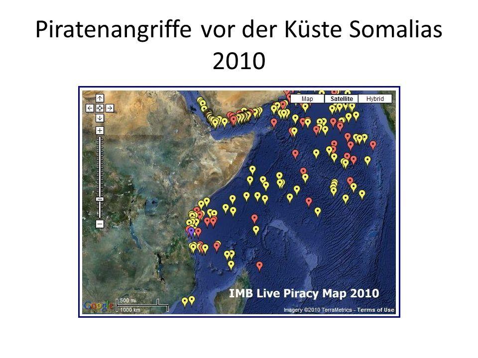 Piratenangriffe vor der Küste Somalias 2010