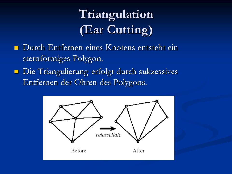 Triangulation (Ear Cutting)