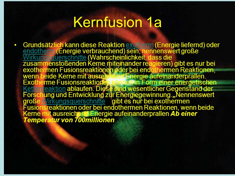 Kernfusion 1a