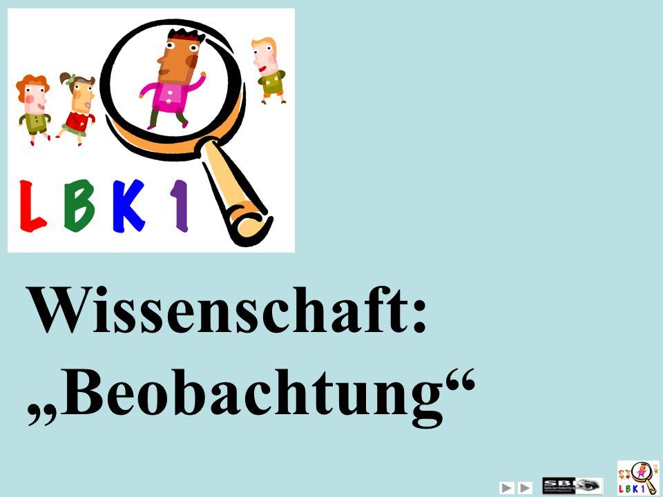 """MULTIS Wissenschaft: """"Beobachtung"""