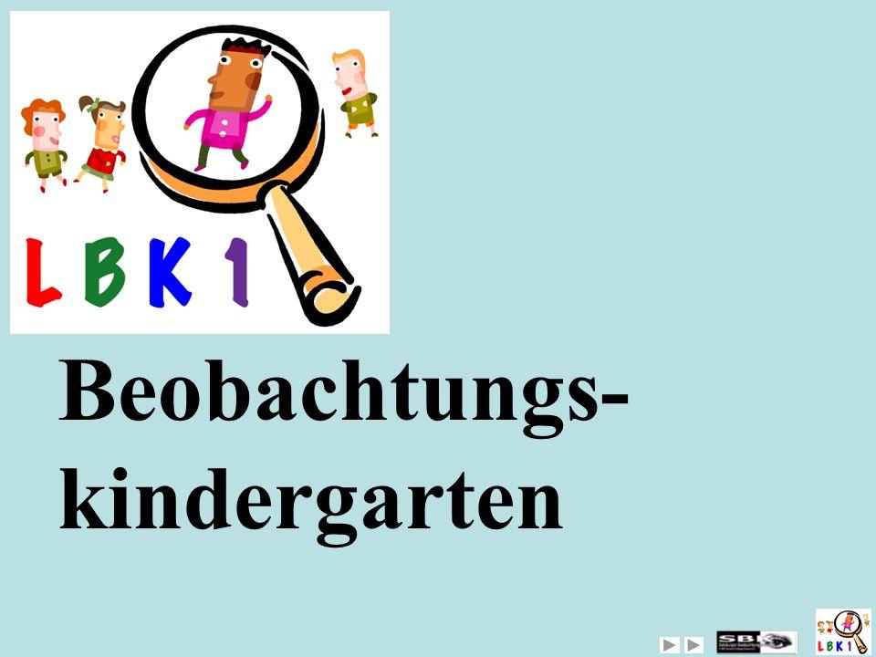 Beobachtungs-kindergarten