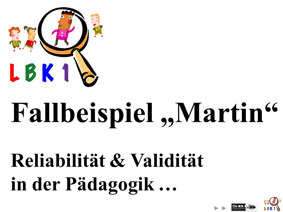 "Fallbeispiel ""Martin"