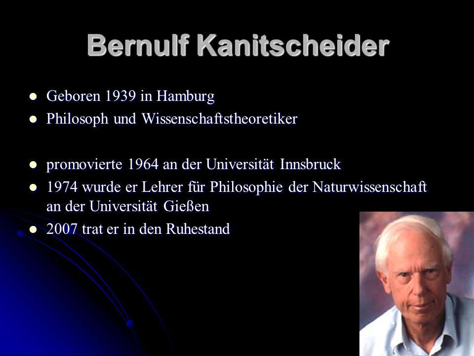 Bernulf Kanitscheider