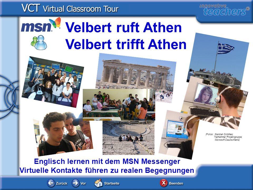 Velbert ruft Athen Velbert trifft Athen