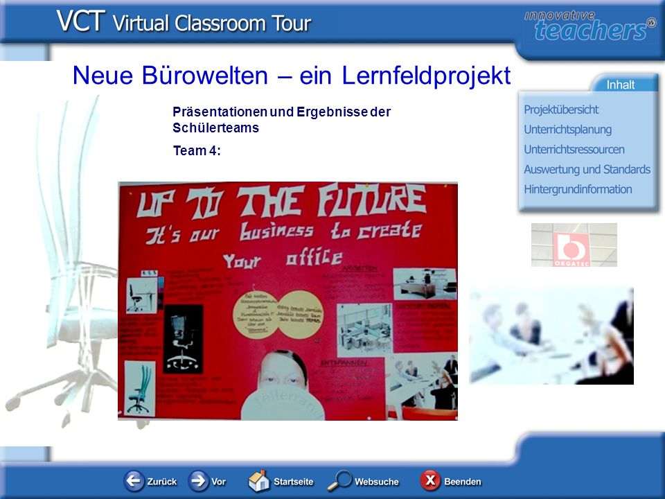 Neue Bürowelten – ein Lernfeldprojekt