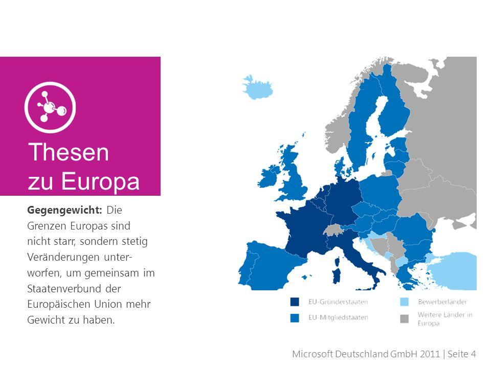 Thesen zu Europa