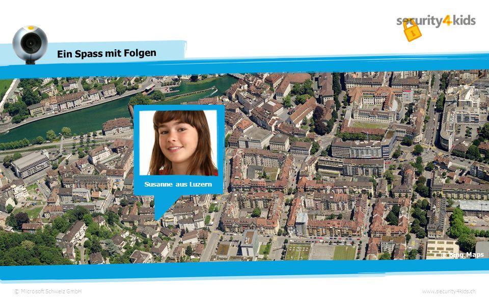 Susanne aus Luzern © Bing Maps