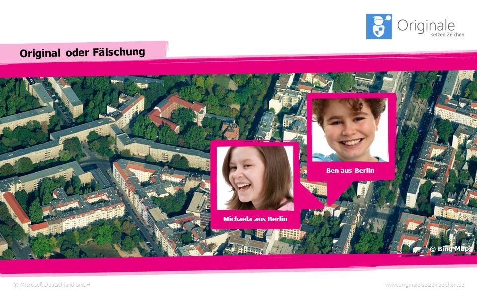 Ben aus Berlin Michaela aus Berlin © Bing Maps