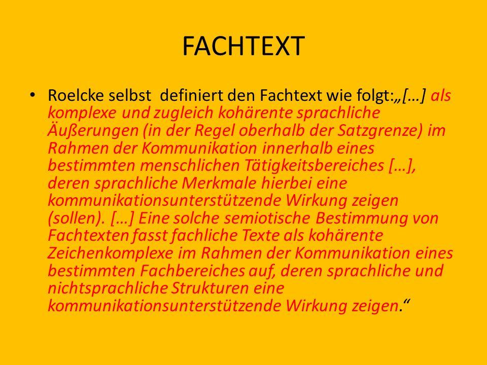 FACHTEXT