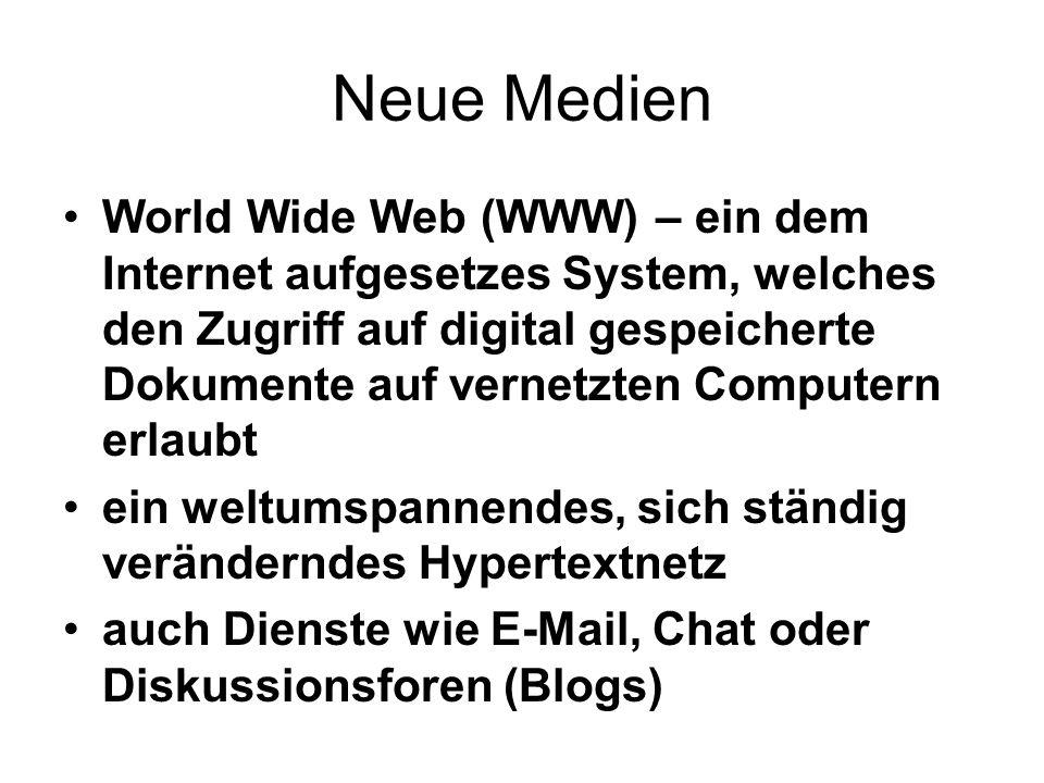 Neue Medien