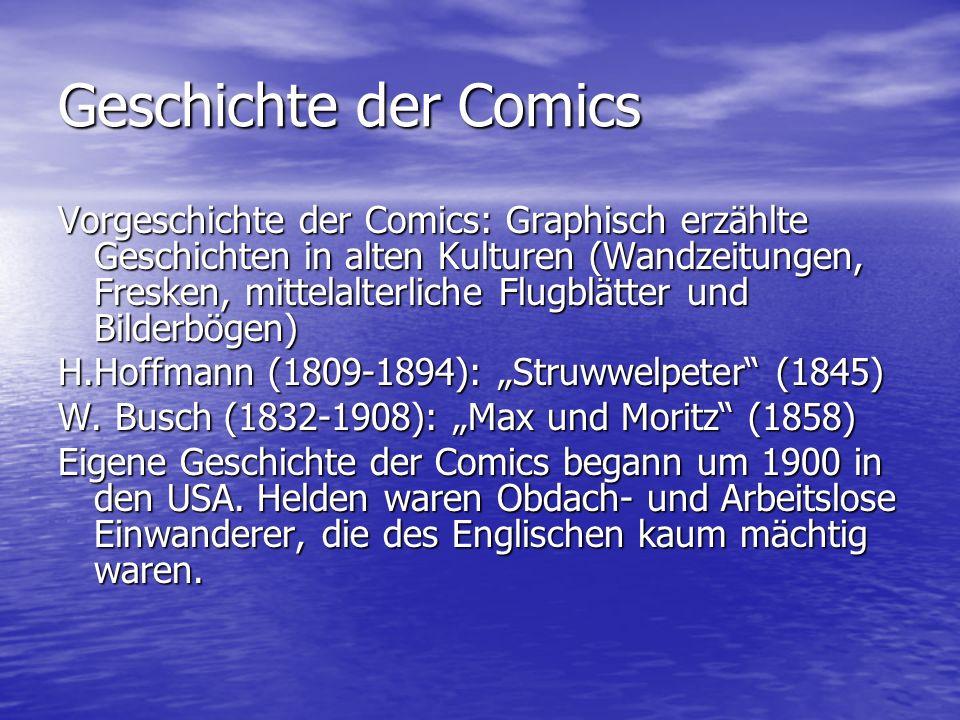 Geschichte der Comics