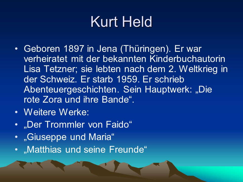 Kurt Held