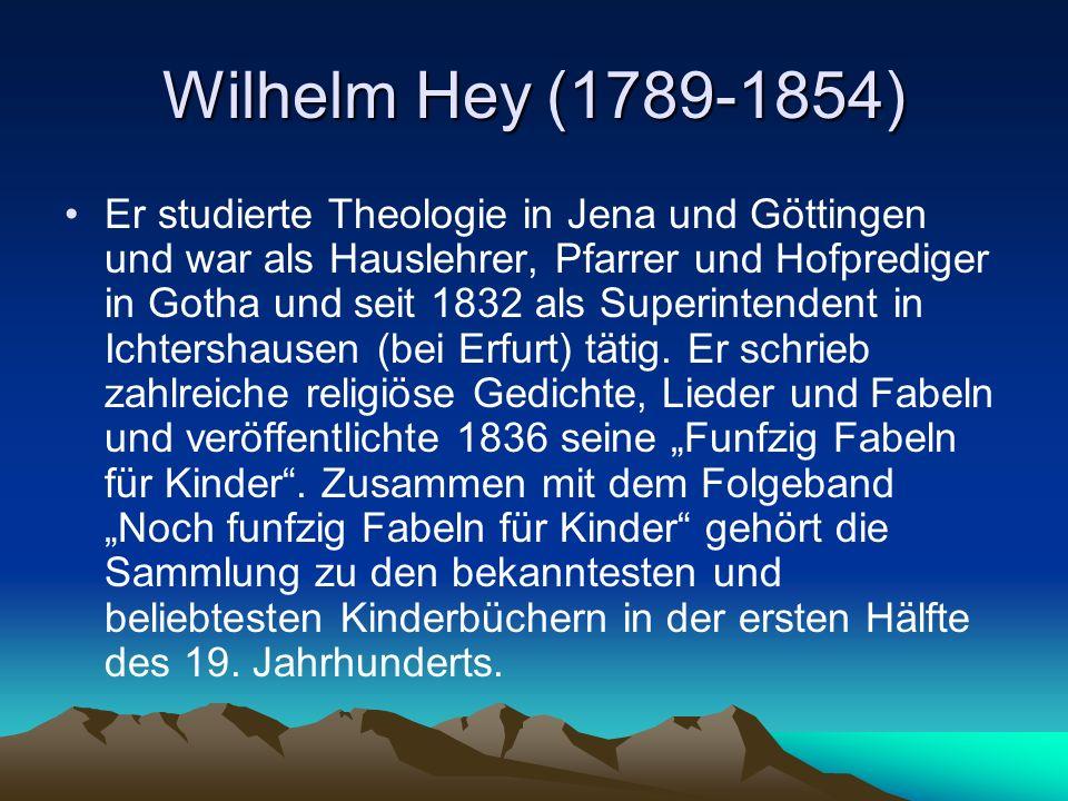 Wilhelm Hey (1789-1854)