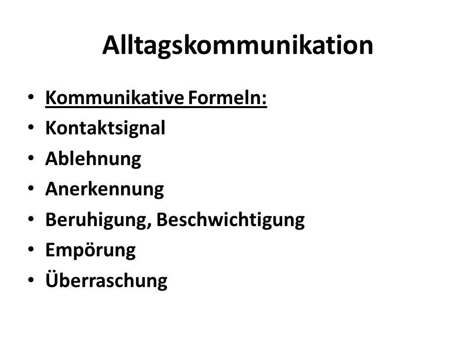Alltagskommunikation