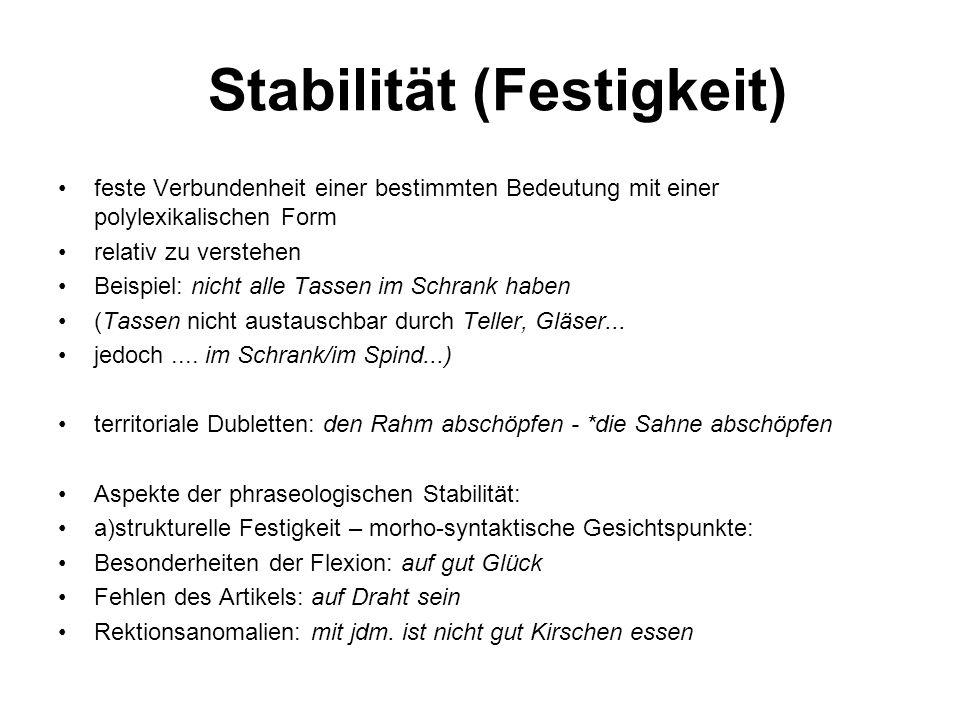 Stabilität (Festigkeit)