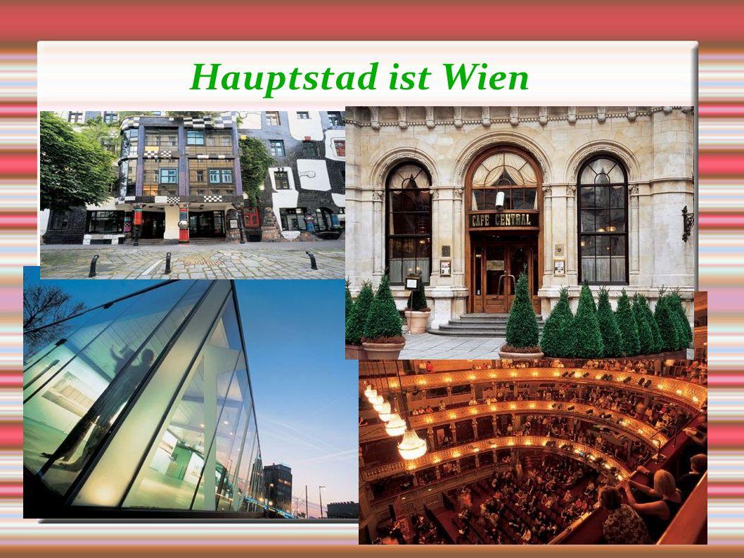 Hauptstad ist Wien Představte současnou situaci