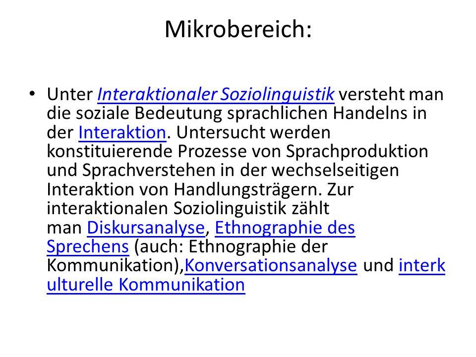 Mikrobereich: