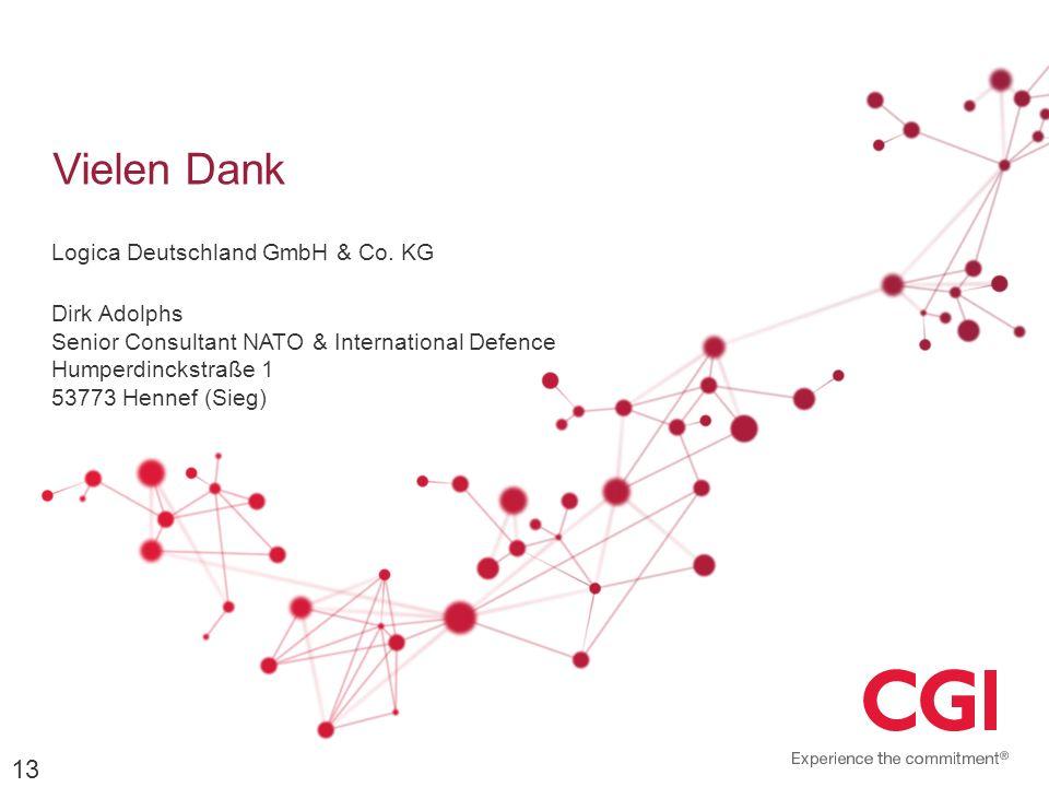Vielen Dank Logica Deutschland GmbH & Co. KG