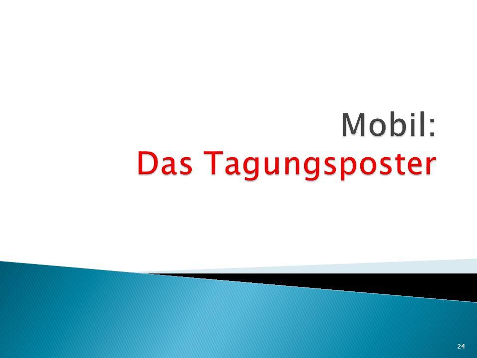 Mobil: Das Tagungsposter