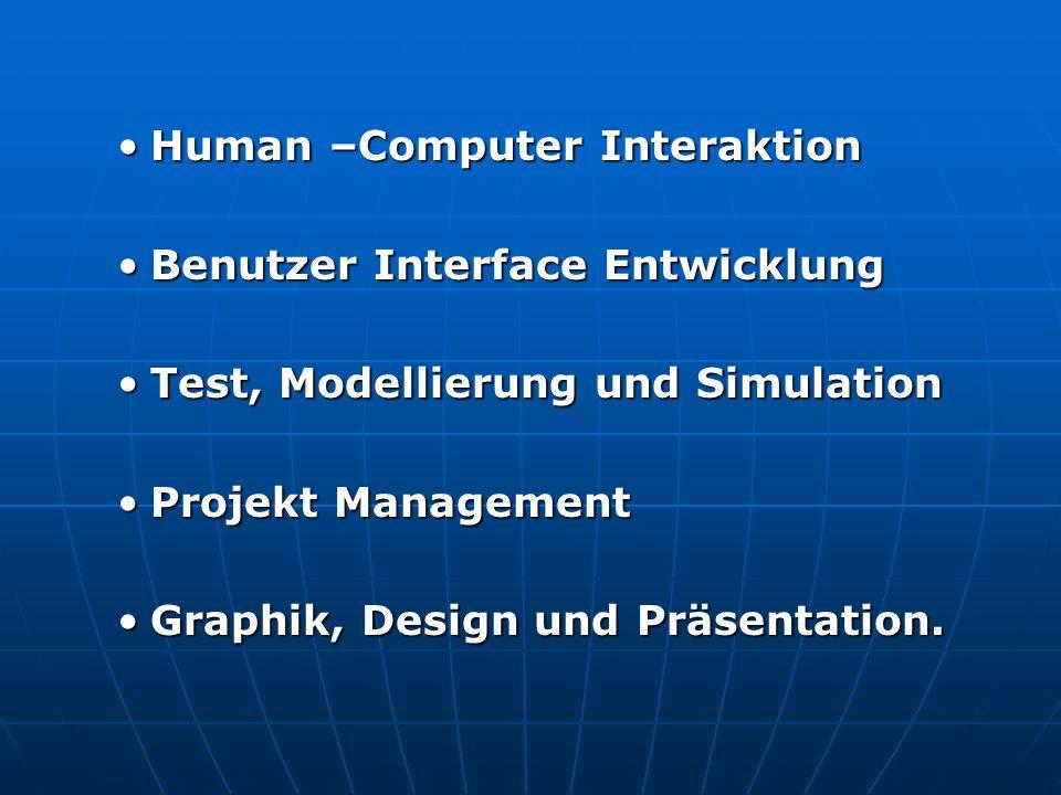 Human –Computer Interaktion