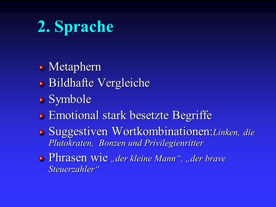 2. Sprache Metaphern Bildhafte Vergleiche Symbole