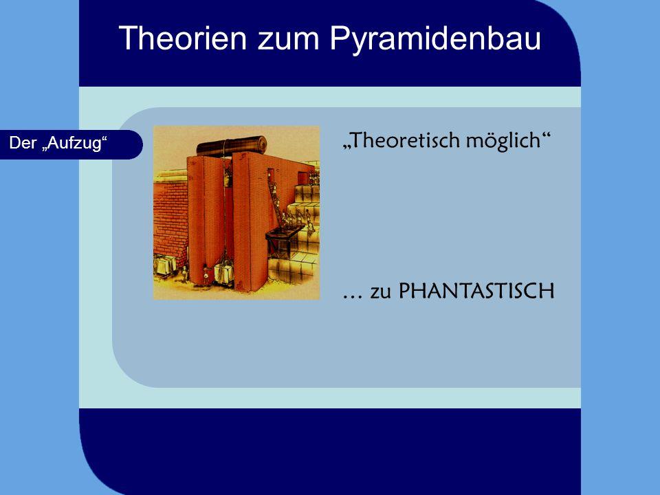 Theorien zum Pyramidenbau