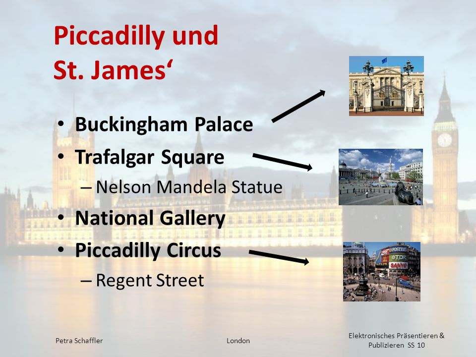 Piccadilly und St. James'
