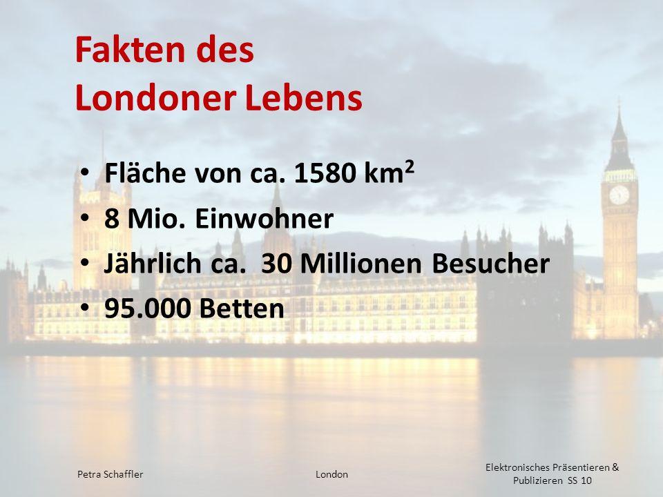 Fakten des Londoner Lebens