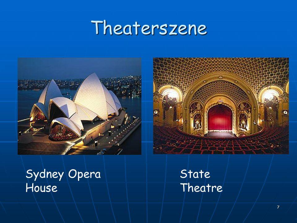 Theaterszene Sydney Opera House State Theatre
