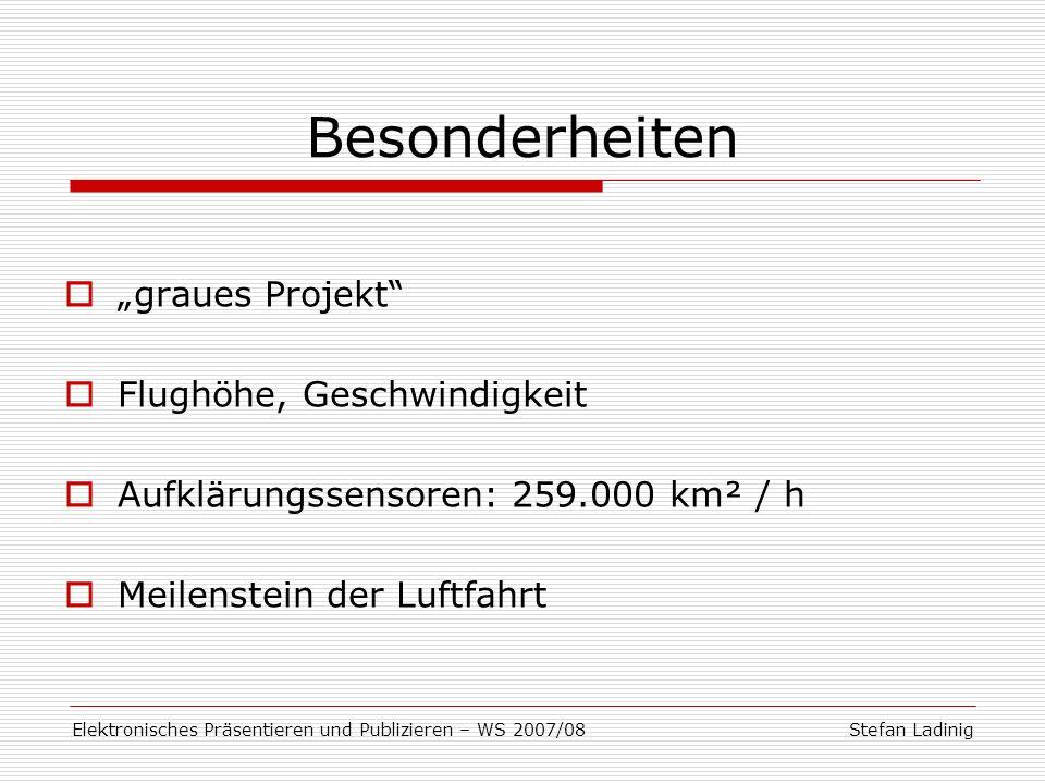 Elektronisches Präsentieren und Publizieren – WS 2007/08