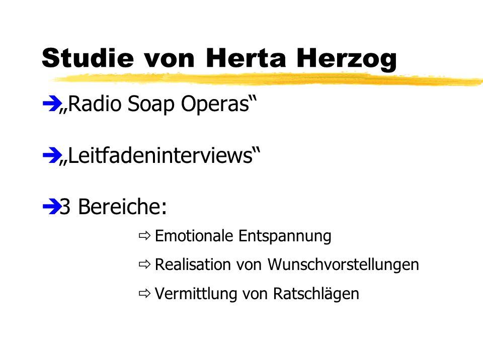 Studie von Herta Herzog