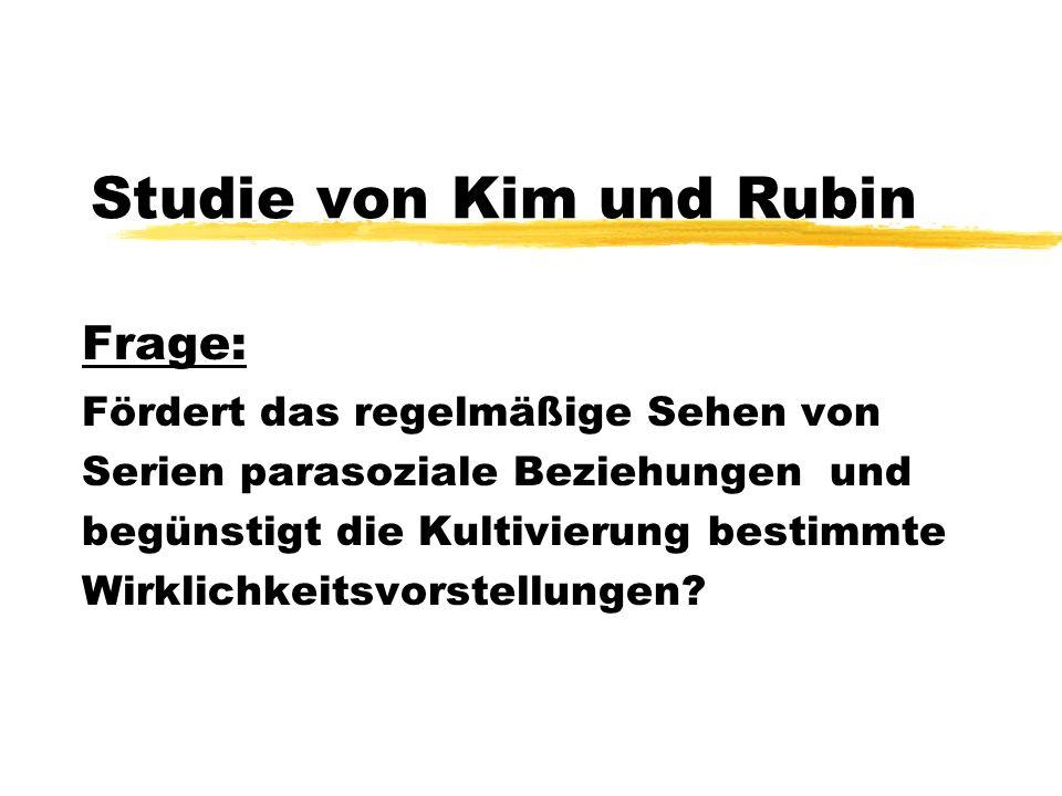 Studie von Kim und Rubin