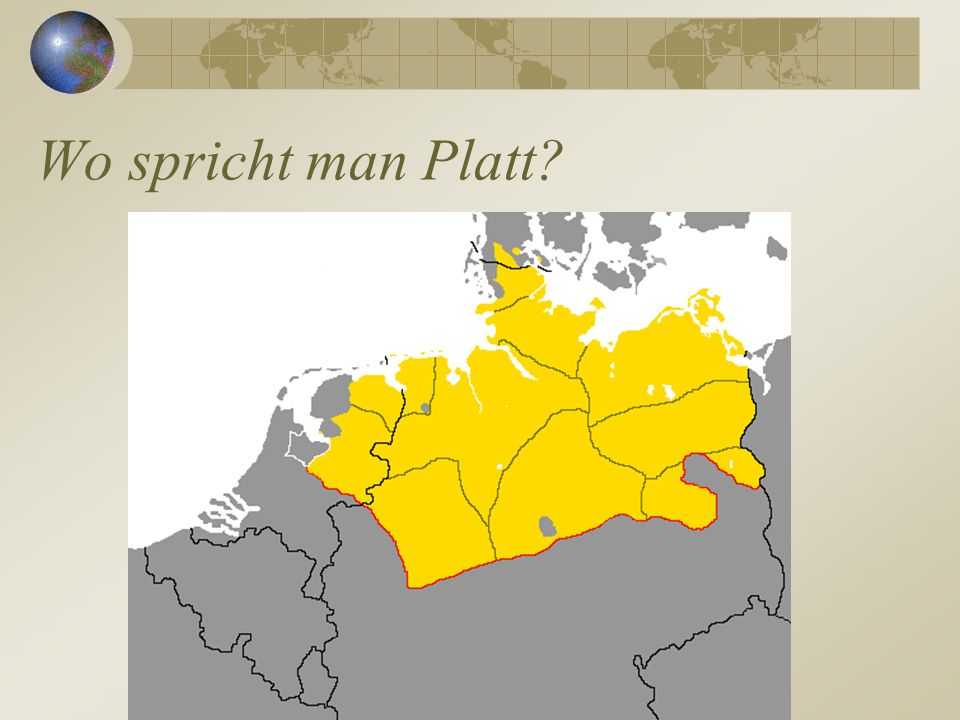 Wo spricht man Platt