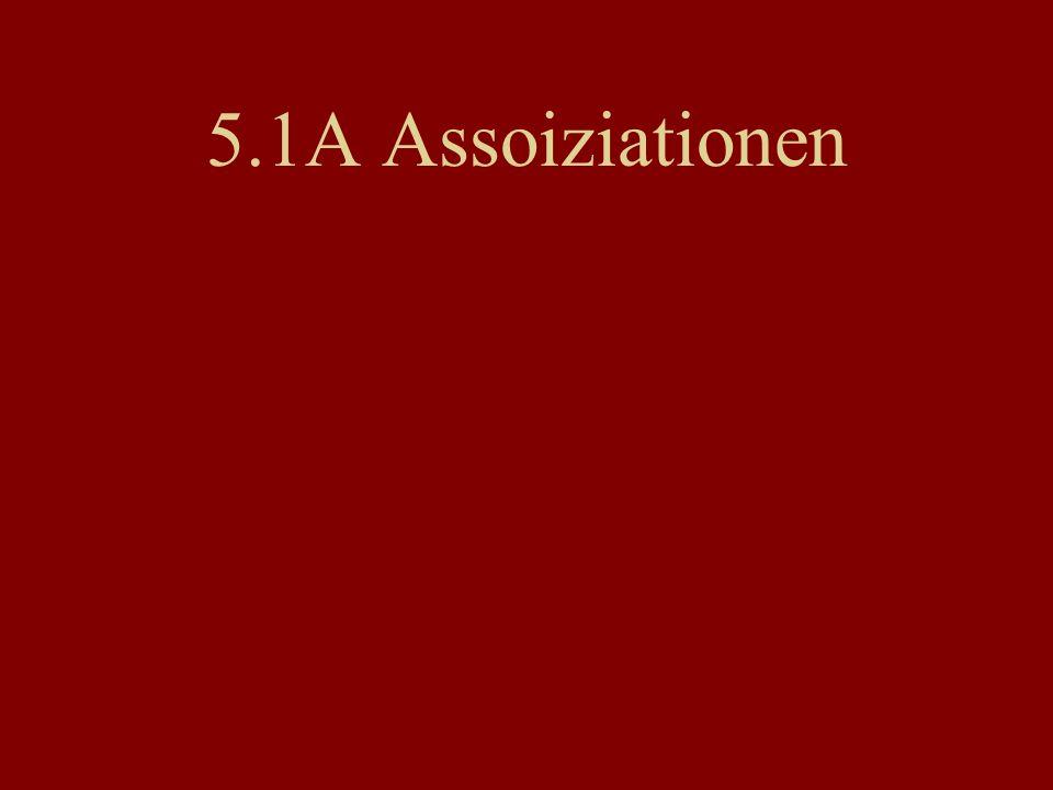 5.1A Assoiziationen