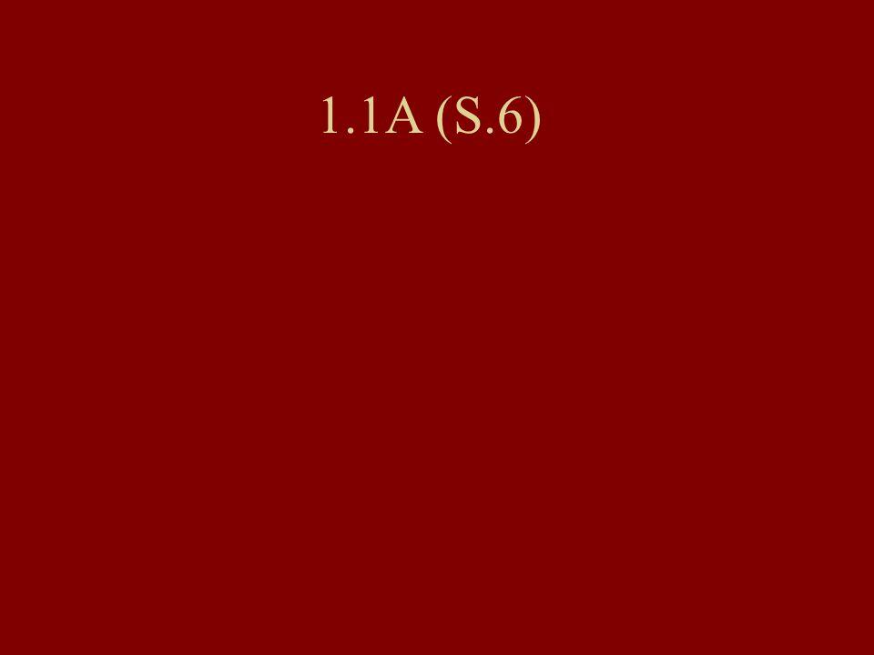1.1A (S.6)