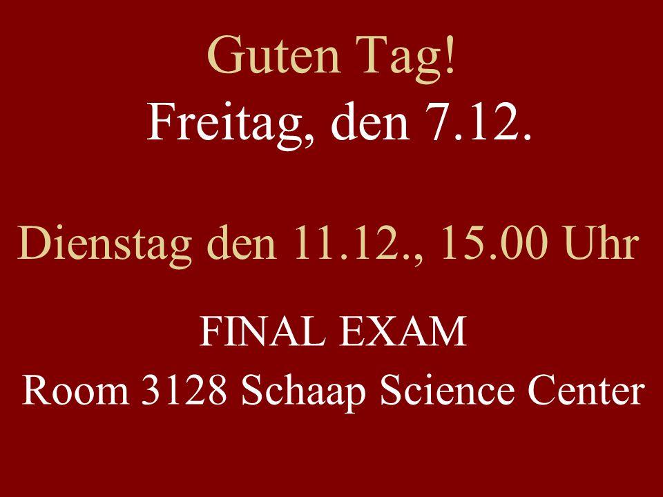 Room 3128 Schaap Science Center