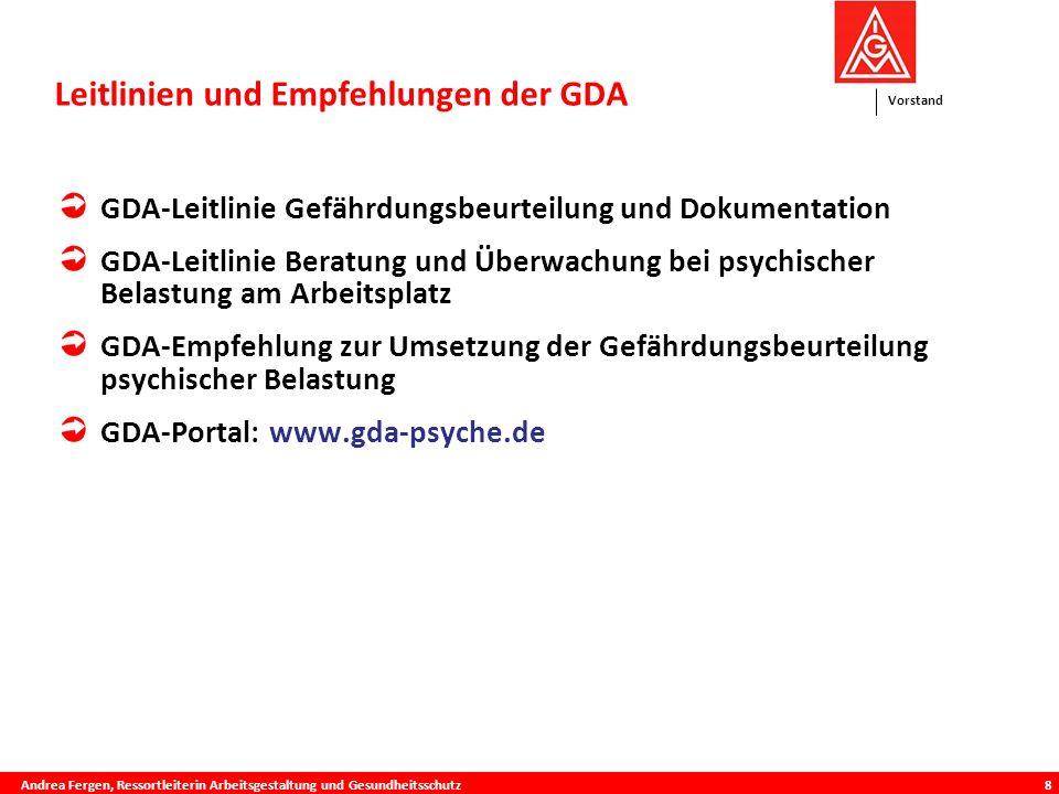 Leitlinien und Empfehlungen der GDAis