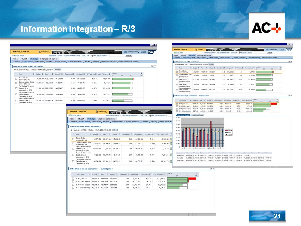 Information Integration – R/3