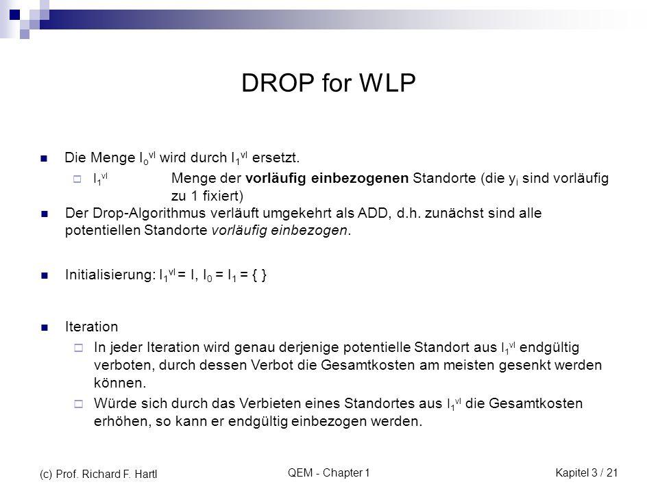 DROP for WLP Die Menge Iovl wird durch I1vl ersetzt.