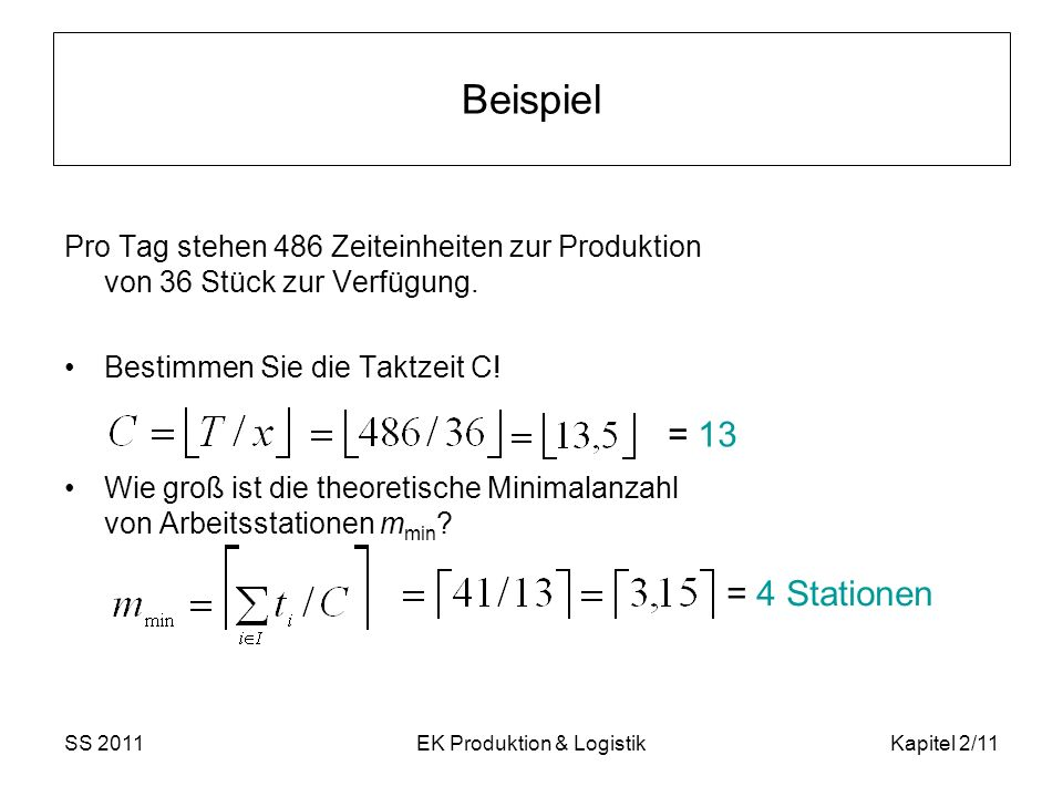 EK Produktion & Logistik