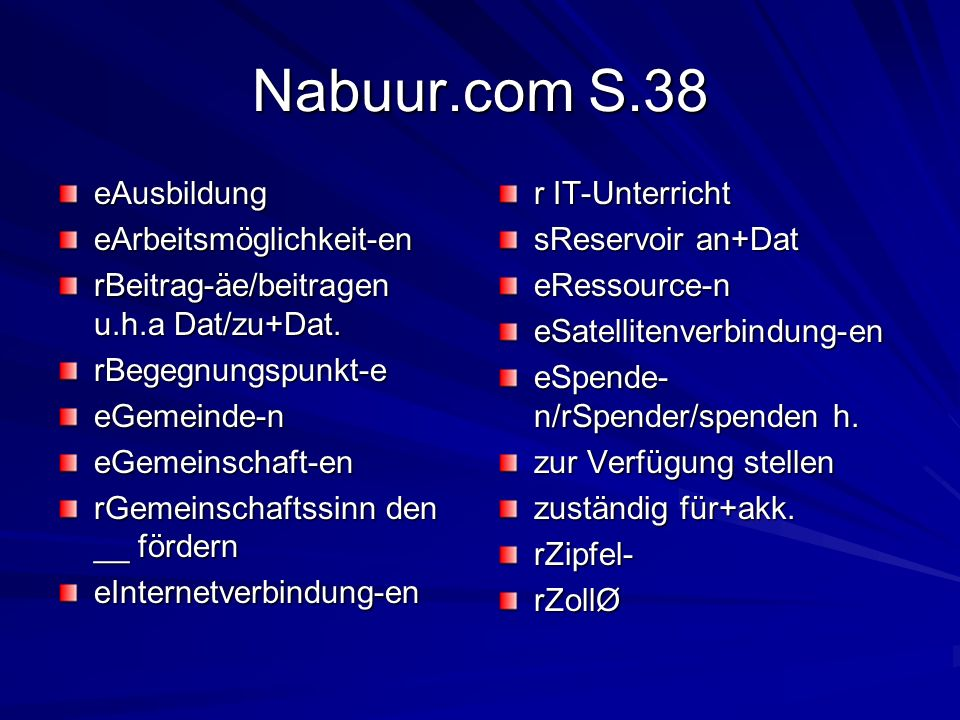 Nabuur.com S.38 eAusbildung eArbeitsmöglichkeit-en