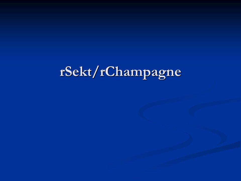 rSekt/rChampagne
