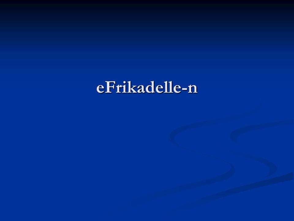 eFrikadelle-n