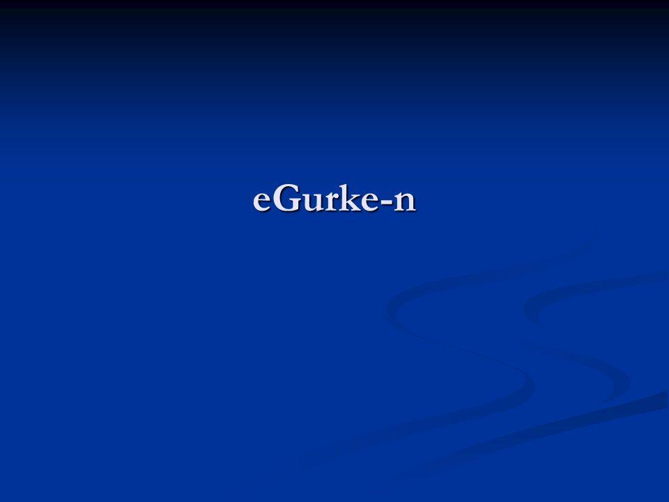 eGurke-n