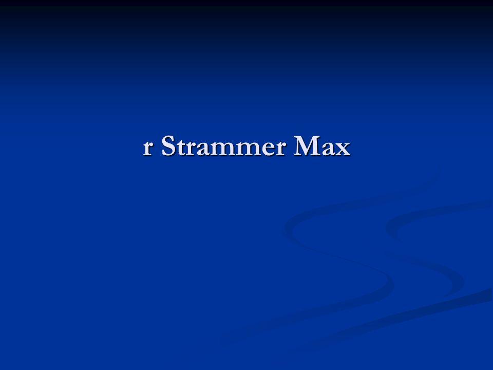 r Strammer Max