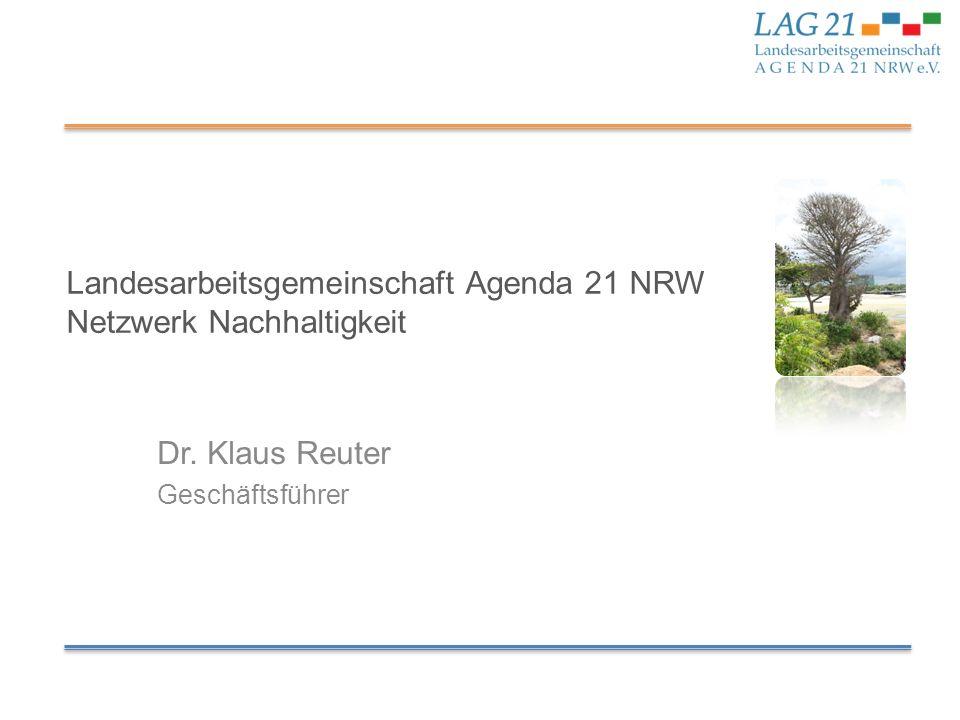 Landesarbeitsgemeinschaft Agenda 21 NRW Netzwerk Nachhaltigkeit