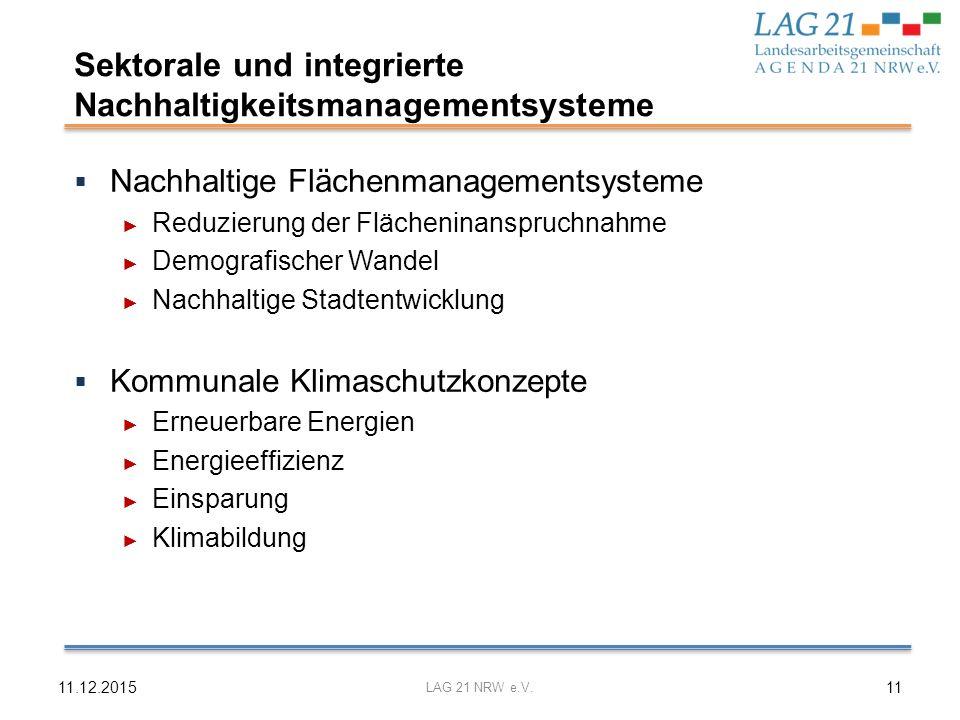 Sektorale und integrierte Nachhaltigkeitsmanagementsysteme