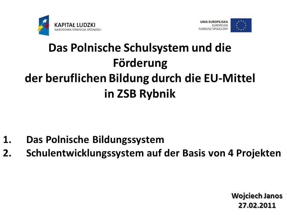 Das Polnische Schulsystem und die Förderung