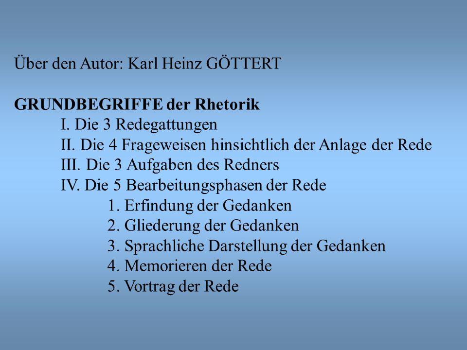 Über den Autor: Karl Heinz GÖTTERT